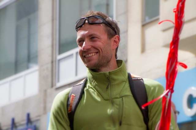 """Michal """"Jernmannen"""" Placek nådde målet sitt: 50 mil på 150 timer!"""